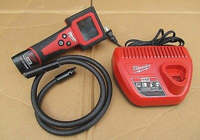 Milwaukee 12V Cordless Digital Inspection Camera M12 Auto Tool 2310-21 Charger +