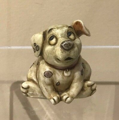 Disney Harmony Kingdom Figurine New Rolly Dog 101 Dalmations Limited Edition