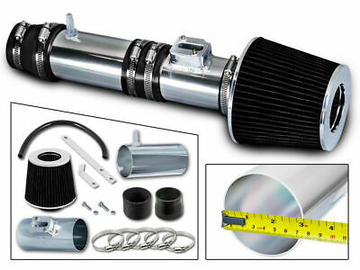 Sport Ram Air Intake Kit + BLACK Air Filter For 07-13 Honda Odyssey 3.5L V6