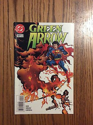 Green Arrow #101..death Of Green Arrow... Mike Grell Series..
