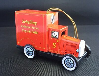 Schylling Collector Series Toys & Gifts Truck Tin Ornament