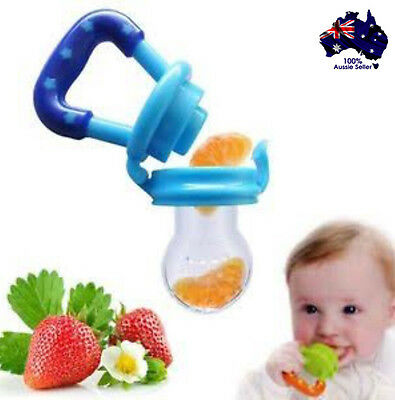 Silicone Baby Dummy Feeder Teething Pacifier BPA Free Start Solids