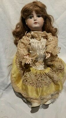 Antique Reproduction Porcelain Doll