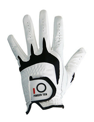 New Men's Leather Golf Gloves Pack Left Right Handed Player Sizes Compression Lh