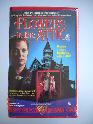 Flowers In The Attic - Roadshow Home Video Vhs Tape (Original)