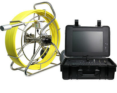 Testrite Drain & Sewer Pipe Inspection CCTV Camera System with 120m Reel & 50mm