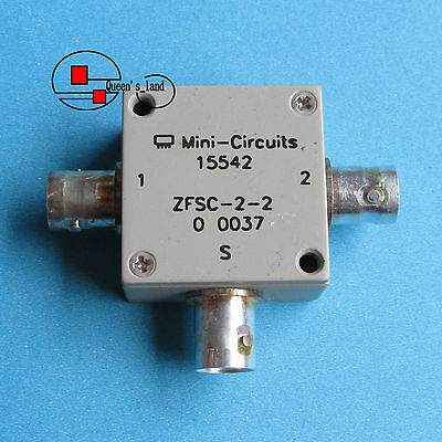 1×USED Mini-Circuits ZFSC-2-2 10-1000MHz BNC 2-Way Power Divider Splitter