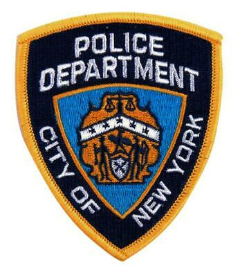 Ecusson / Patch Brode Police Department City Of New York