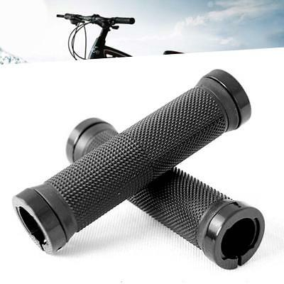 1 Pair Lock-on Mountains Bike Bicycle Cycling Handle Bar Cyclist Grips black DD