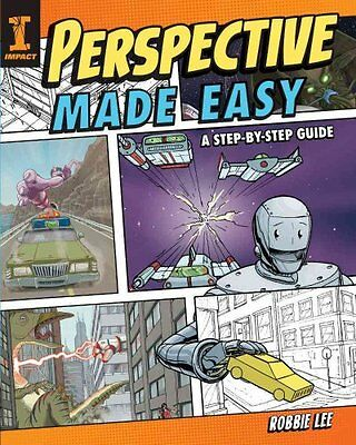 Perspective Made Easy Step by Step Drawing Lessons by Robbie Lee 9781440339233