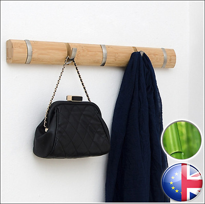 Tree Wall Coat Hanger Luxury Design Natural Bamboo Elegant and Ecological BEONI
