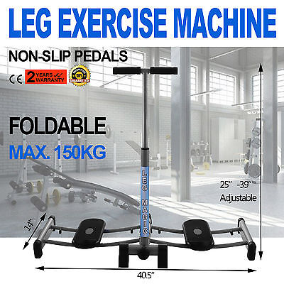 Leg Exercise Training Machine Fitness Thigh Resistance Home Trainer Master