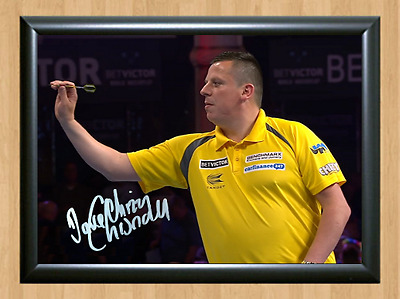 Dave Chisnall Darts Sports Signed Autographed A4 Poster Photo Print Memorabilia
