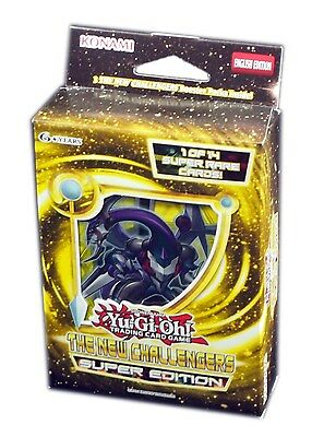 Konami Yu-Gi-Oh! TCG, The New Challengers Super Edition, New and Sealed