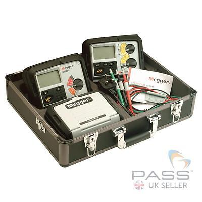 Megger MTK320 Electrical Testing Kit: MIT320 + LTW325 + RCDT320 in Carry Case
