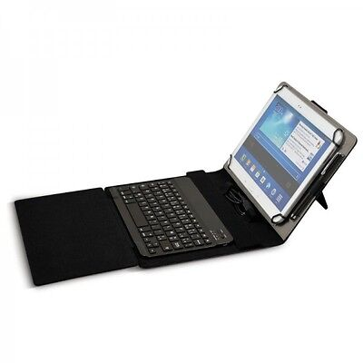 Port Designs Detroit - Funda con teclado Bluetooth para tablet de 10 pulgadas