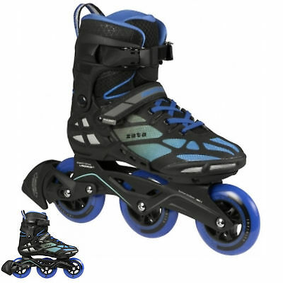 Powerslide Phuzion Zeta Freestyle Triskates, Black/Blue