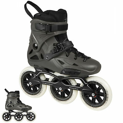 Powerslide Imperial Megacruiser 125mm Triskates, Black