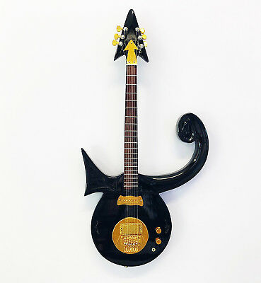 Miniature Guitar Replica: Prince - Love Symbol (UK Seller)