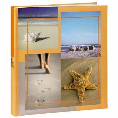 Large Sea Shells Beach Holiday Photo Album Case Book 60 Pages 6x4 '' Photos