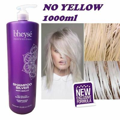 Bheyse' – No Yellow Shampoo Antigiallo - Capelli Decolorati 1000ml