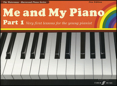 Me and My Piano Part 1 Learn How to Play Beginner Method Very First Lessons