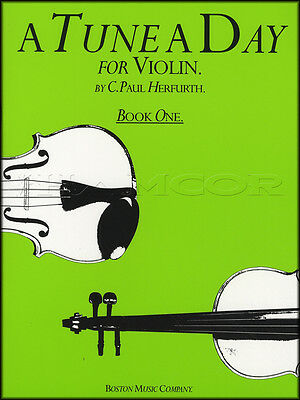 A Tune A Day for Violin 1 Sheet Music Book Learn How To Play Method