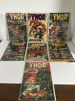 The Mighty Thor 133 135 137 141 143 145 150 Vg-Fn Very Good-Fine 4.0-6.0