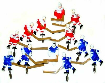 Hand Painted Men/Man Set For Carrom Dome Bubble Hockey Tables