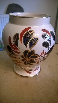 "Vintage Hand Painted? Vase 6 Inches Tall ""Oldcourt ware"""