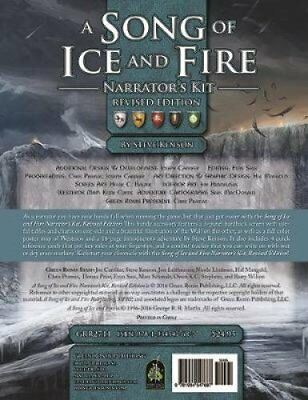 A Song of Ice and Fire Roleplaying Narrator's Kit by Steve Kenson (Book, 2017)