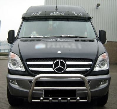 MERCEDES Sprinter vw crafter pare buffle inox 2006-2014