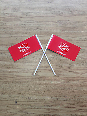 CANADA 150 Paper Hand Flags  X 1000 LOT