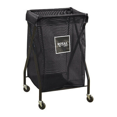 X-Frame Cart,6.7 cu. ft.,Black,Mesh ROYAL BASKET TRUCK G06-KKX-XMA-3ONN