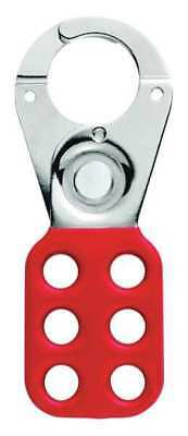 MASTER LOCK 420 Lockout Hasp,Snap-On,Red,4-1/2in. L G0067910