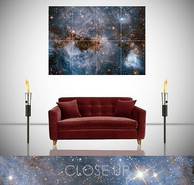 Star Chart Celestial Map Vintage Astronomy Giant Poster Wall Art Print