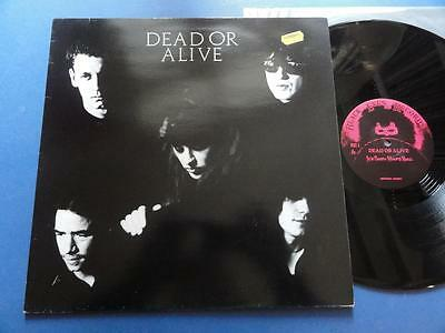 "DEAD OR ALIVE  ITS BEEN HOURS NOW Black Eyes 82 12"" p/s 45 EX+/MINT STUNNING"