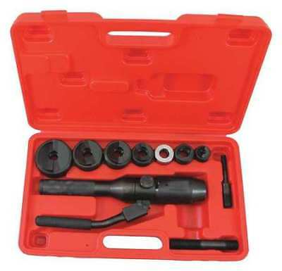 ECLIPSE 902-482 Knockout Punch Set,10 ga. Steel Capacity G0533429