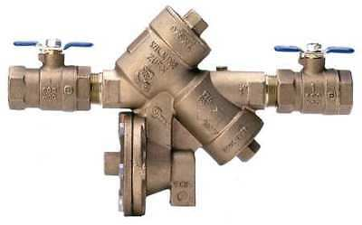 "WILKINS 34-975XL, Reduced Pressure Zone Backflow Preventer, 3/4"" I.D."
