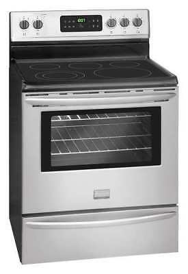 "FRIGIDAIRE FGEF3030PF Electric Oven Range, 30"" 5.3 cu. ft. Stainless Steel"