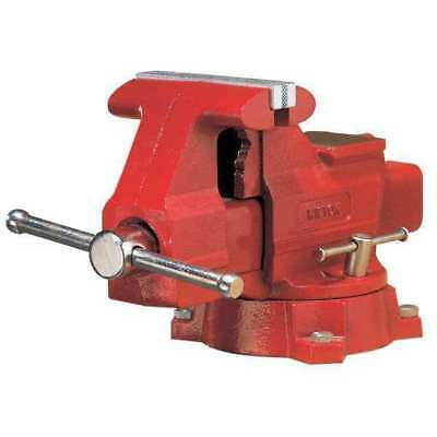 WILTON 676 Workshop Vise, Swivel, 6-1/2 In Jaw, DI