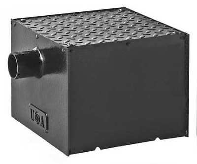 Smith Light Commercial 800-Y02-04 Grease Interceptor,Capacity 8Lb.,4 Gpm