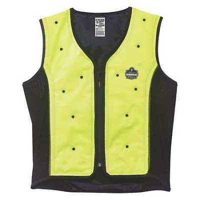 Medium Evaporative Cooling Vest, Lime CHILL-ITS BY ERGODYNE 6685