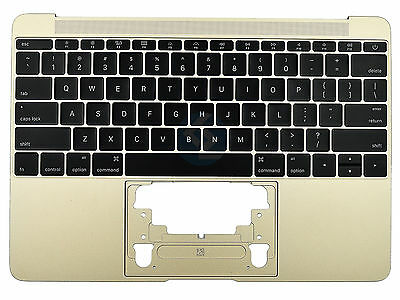 "95% NEW Gold US Keyboard Topcase 613-01195-A for MacBook 12"" A1534 2015"