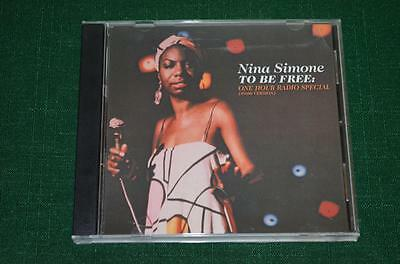 To Be Free: The NINA SIMONE Story ONE HOUR RADIO SPECIAL US Promo Only CD Rare