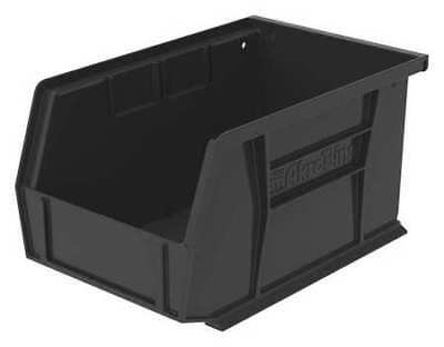 "Black Hang and Stack Bin, 9-1/4""L x 6""W x 5""H AKRO-MILS 30237BLACK"