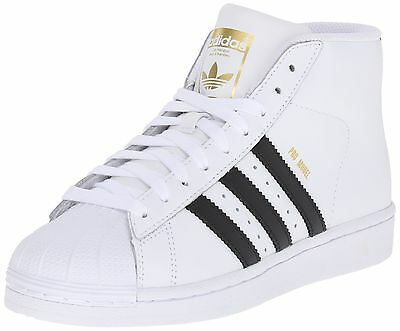 Adidas S85962: Originals Pro Model J Big Kids' Sneakers White/Black/White