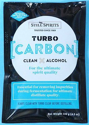 A package of Still Spirits Turbo Carbon, liquid carbon