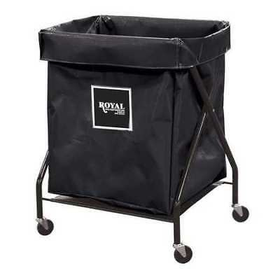 X-Frame Cart,8.9 cu. ft.,Black,Vinyl ROYAL BASKET TRUCK G08-KKX-XFA-3ONN