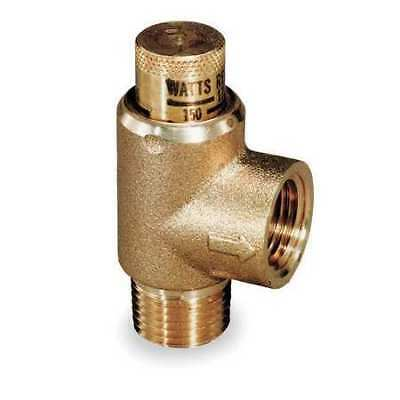 WATTS 530-3/4 Adjustable Relief Valve,3/4 x 1/2,175psi G3453791